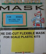 Eduard 1/48 EX423 Canopy Mask for the Trumpeter MiG-23ML kit