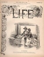 1890 Life July 31 - Uncle Sam is running up his bills under President Harrison