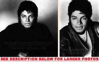 MICHAEL JACKSON 1982 PROMO ALBUMSHOTS 2xRARE8x10 PHOTOS