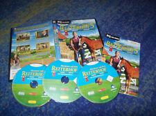 Abenteuer auf dem Reiterhof 5 PC Der goldene Steigbügel mit Handbuch