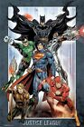 JUSTICE LEAGUE ~ FRAME 24x36 ART POSTER JLA DC Comic Book America Batman Flash