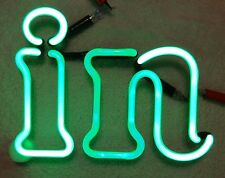 "LARGE HEINEKEN LOGO Neon Sign Part -- ""IN"""