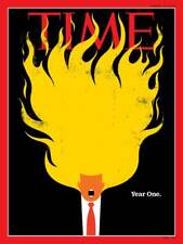 DONALD TRUMP YEAR ONE THE GOP ROCKY RELATIONSHIP - TIME MAGAZINE - JANUARY 2018