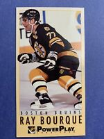 1993-94 Fleer Power Play Tall Boy #16 Ray Bourque Boston Bruins