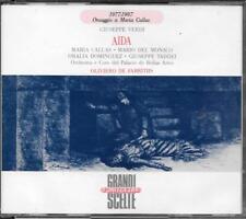 """MARIA CALLAS  MARIO DEL MONACO  ORALIA DOMINGUEZ - RARO BOX 2 CD """" AIDA """""""