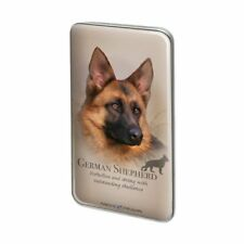 German Shepherd Dog Breed Metal Rectangle Lapel Hat Pin Tie Tack Pinback