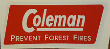 TWO (2) NEW COLEMAN REPLACEMENT STICKER LABEL DECAL CANADIAN 4M STOVE VERSION 2