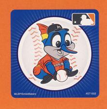 10 Miami Marlins Mascot - Large Stickers - Major League Baseball