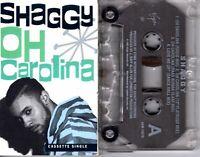 Shaggy Oh Carolina 1993 Cassette Tape Single Rap Hiphop