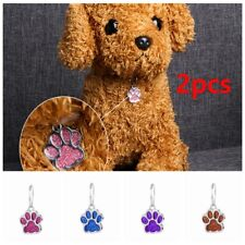 ID Name Alloy Reflective shiny claw Dog tag Collar pendant Pet  accessories