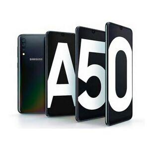 "Samsung Galaxy A50 Dual SIM Unlocked Android Smartphone 128GB 6.4"" 25MP Grade A"