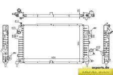 Wasserkühler OPEL ASTRA H 1.9 CDTI