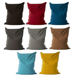 Bean Bag Extra Large Cotton Sofa Cover Chair Lazy Lounger Couch Indoor Beanbag
