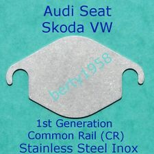 EGR valve block plate 2.0L TDi CR VW Seat Skoda Audi Stainless Steel 1st Gen CR