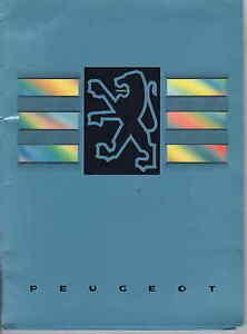 PEUGEOT 605 Press Release pack 1990/91    UK Postfree