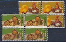 Moldawien 511/12 postfrisch / Viererblöcke Cept (1974) .........................