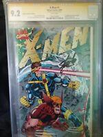 92 X-Men #1 Collectors Edition SS Stan Lee cgc 9.2