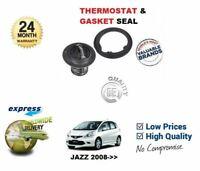 Para Honda Jazz 1.2 L12B1 1.4 L13Z1 2008- > Nuevo Sello de Termostato