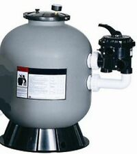 "swimming pool/pond/spa 16"" Sand filter with SIDE mount 7 Position Multi-Port 8m3"
