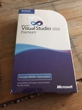 Visual Studio 2010 premium with MSDN renewal, productos nuevos con factura IVA