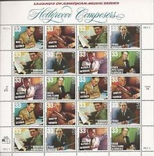 USA 1999 SC#3344a  Hollywood Composers, Stamps MNH VF Fast free shipping