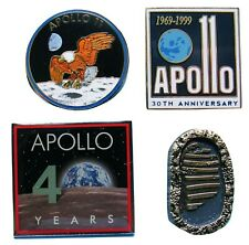PIN lot APOLLO 11 moon landing 50th anniversary NASA boot print Neil Armstrong