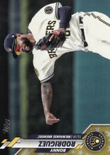2020 TOPPS GOLD STARS PARALLELS RONNY RODRIGUEZ MILWAUKEE BREWERS - B5935