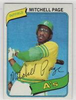 1980 Topps Baseball Oakland Athletics Team Set Rickey Henderson Rookie Card