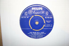 FRANKIE VAUGHAN,  THE HEART OF A MAN,  PHILIPS RECORDS 1959