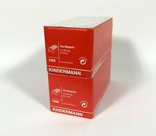 Kindermann 1169 Medium Format 6X6 cm Slide Tray Magazine Lot of 2 with Boxes