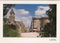 BF15710 laval porte beucheresse et la cathedrale  france front/back image
