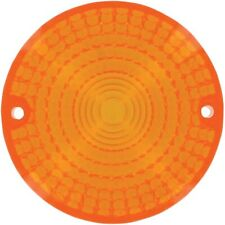 K&S Technologies - 25-1100 - DOT Approved Turn Signal Replacement Lens, Amber Ho