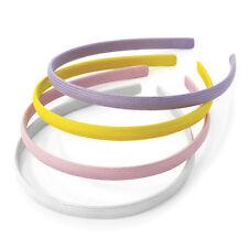 4 Alice Bands Pastel Colours Headband Hair Band Aliceband Set Womens Girls Kids