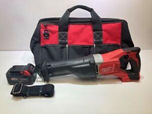 Milwaukee 2621-20 18V Sawzall Cordless Reciprocating Saw w/ Soft Case & Battery