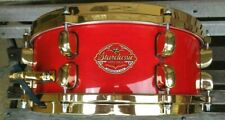 Early Japan Tama Starclassic maple 14 x 5.5 Special Edition gold package snare