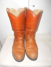 Double H  Camel Colored Insulated Leather Boots Men 10 1/2D