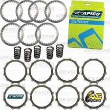 Apico Clutch Kit Steel Friction Plates & Springs For Kawasaki KX 250 1994 MotoX