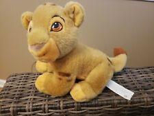 Vintage The Disney Store Lion King SIMBA Baby Cub Plush Toy Stuffed Animal