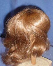 "Peluca de muñeca/cabello humano 11.5"" a 12"" D. Rubio barbilla longitud/EHP dklblond 29/31 halblg"