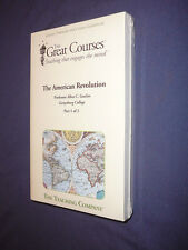 Teaching Co Great Courses TRANSCRIPTS       THE AMERICAN REVOLUTION        new