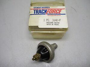 Stewart Warner Track Force Pressure Switch 364K-F