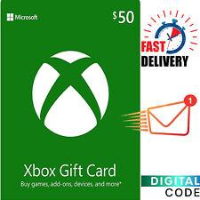 Xbox Live Card USD 50 - $50 Xbox Gift Card Xbox One/360 Digital Key - US ONLY