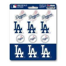Los Angeles Dodgers Set Of 12 Vinyl Sticker Decal Sheet