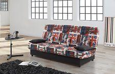 Sofas sofa cama clic clac desenfundable con arcón de almacenaje alta calidad