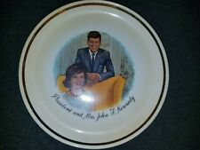 President and Mrs. John F. Kennedy Collector Plate ~ 35th President of the USA