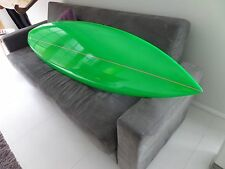 """New 6'3"""" polished green short board some very minor marks but a great board"""