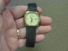 Vintage FELCA ROMA Quartz Watch Swiss Leather Band Wristwatch Waterproof