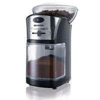 Severin Elettrico Filtro Caffè Smerigliatrice 100g Regolabile Level KM3874 Nero/