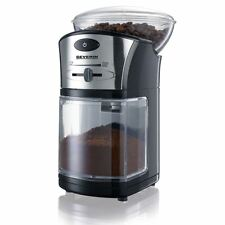 Severin Electric Filter Coffee Grinder 100g Adjustable Level KM3874 Black/Silver