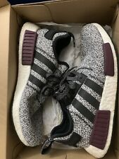 Adidas NMD R1 Champs Exclusive Grey Static Wool Burgundy Size 9.5 B39506